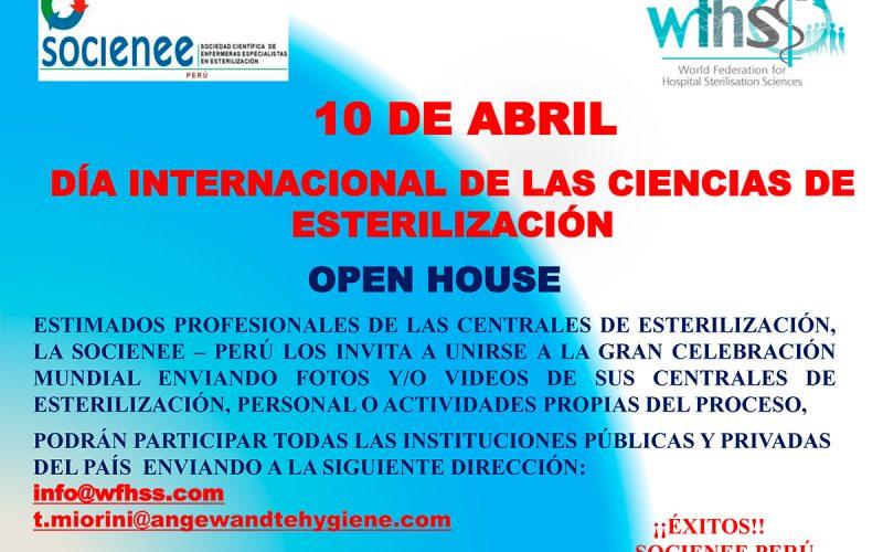 Día Internacional de las Ciencias de Esterilización