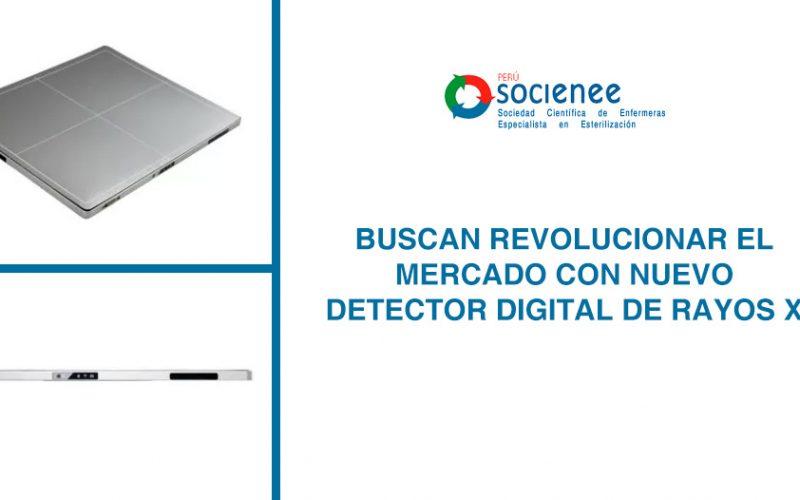 Buscan revolucionar el mercado con nuevo detector digital de rayos X