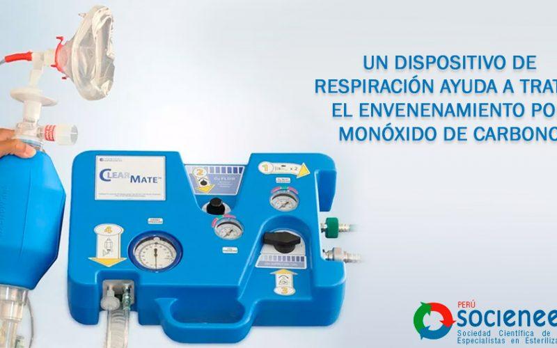 Un dispositivo de respiración ayuda a tratar el envenenamiento por monóxido de carbono