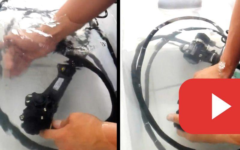 Prueba de fugas Endoscopio Olympus